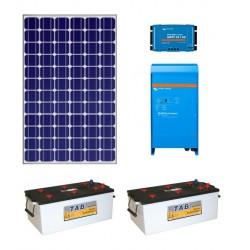 Batería solar  + mppt + phoenix + PV 170 Wp